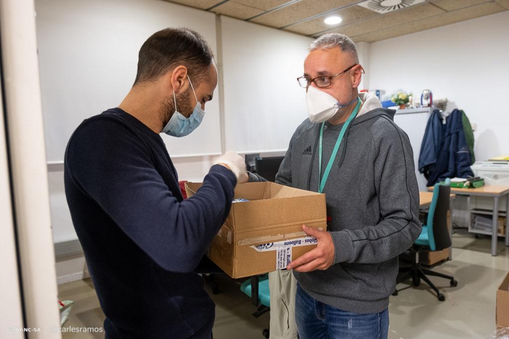 Material entregat en la primera setmana del Projecte Malla a la Conca d'Òdena